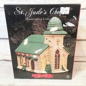 St. Jude's Church Christmas Village Building